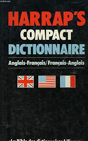 HARRAP'S COMPACT DICTIONNAIRE, ANGLAIS-FRANCAIS, FRANCAIS-ANGLAIS: FORBES PATRICIA, HOLLAND ...