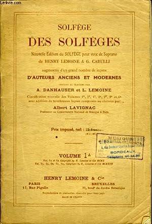 SOLFEGE DES SOLFEGES.: L. LEMOINE ET A. DANHAUSER