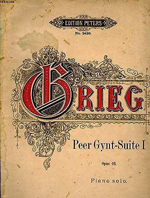 PEER GYNT - SUITE I OPUS 46: GRIEG EDVARD