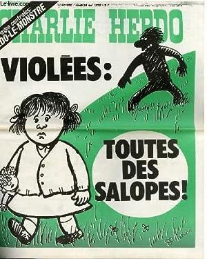 CHARLIE HEBDO N°392 - VIOLEES : TOUTES: CABU - CAVANA