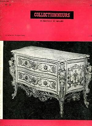 LE JOURNAL DES COLLECTIONNEURS ET DES CHERCHEURS DE CURIOSITES, N° 12, OCT.-NOV. 1957: ...