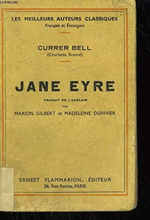JANE EYRE.: BELL CURRER (