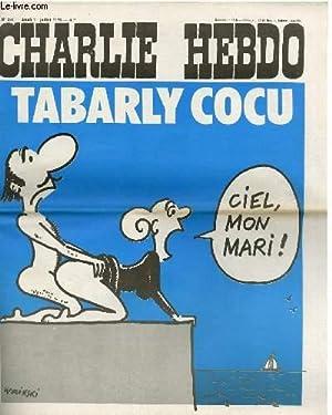 "CHARLIE HEBDO N°294 - TABARKY COCU ""CIEL,: CABU - CAVANA"