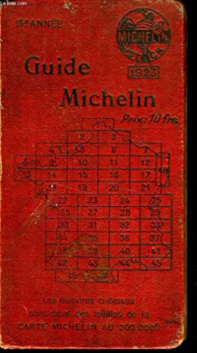 GUIDE ROUGE MICHELIN: MICHELIN