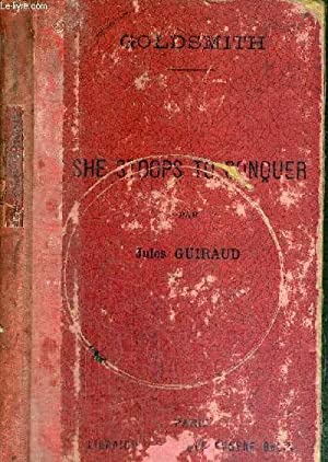 SHE STOOPS TO CONQUER OR THE MISTAKES: GOLDSMITH OLIVER /