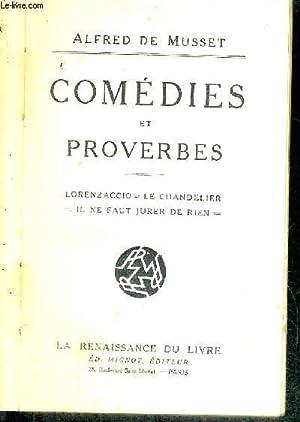 COMEDIES ET PROVERBES - TOME 2 -: DE MUSSET ALFRED