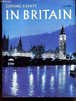COMING EVENTS IN BRITAIN - July 1959: COLLECTIF