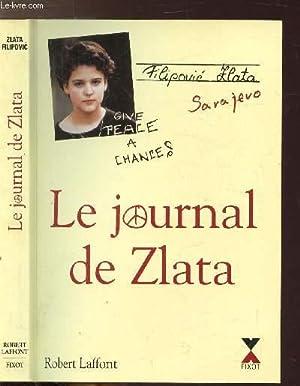 LE JOURNAL DE ZLATA: FILIPOVIC ZLATA.