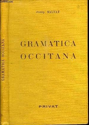 GRAMATICA OCCITANA - GRAMMAIRE OCCITANE DES PARLERS: SALVAT JOSEP