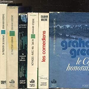 LOT DE 6 LIVRES : LE CONSUL: GREENE GRAHAM