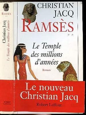 RAMSES - TOME II - LE TEMPLE: JACQ CHRISTIAN