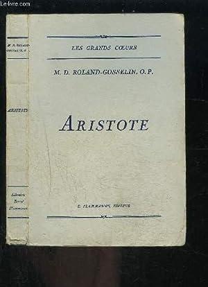 ARISTOTE: ROLAND GOSSELIN O.P.