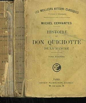 HISTOIRE DE DON QUICHOTTE DE LA MANCHE. EN 2 TOMES.: CERVANTES MICHEL.