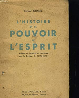 L'HISTOIRE ET LE POUVOIR DE L'ESPRIT: RICHARD INGALESE