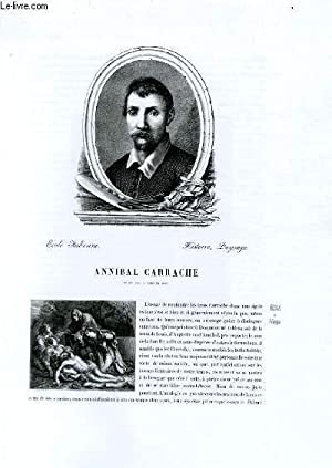 Biographie d'Annibal Carrache (né en 1560, mort: CHARLES BLANC