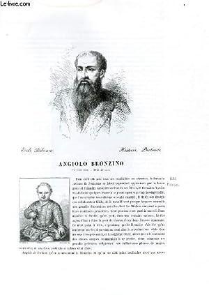 Biographie de Angiolo Bronzino (né vers 1502, mort en 1572) ; Ecole Italienne ; Histoire, ...