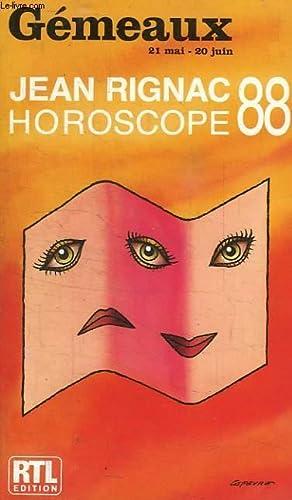 GEMEAUX, HOROSCOPE 88: RIGNAC JEAN