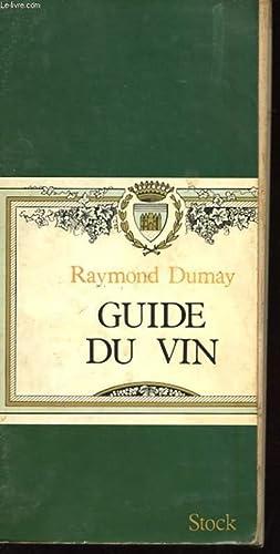 GUIDE DU VIN: DUMAY RAYMOND