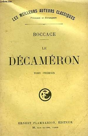 LE DECAMERON. TOME 1.: BOCCACE.