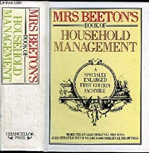 MRS BEETON'S BOOK OF HOUSEHOLD MANAGEMENT: BEETON ISABELL