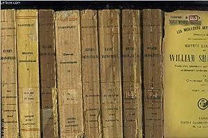 OEUVRES DRAMATIQUES DE WILLIAM SHAKESPEARE- 8 TOMES: SHAKESPEARE WILLIAM
