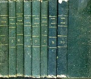 OEUVRES DE LORD BYRON EN 8 VOLUMES: BYRON LORD