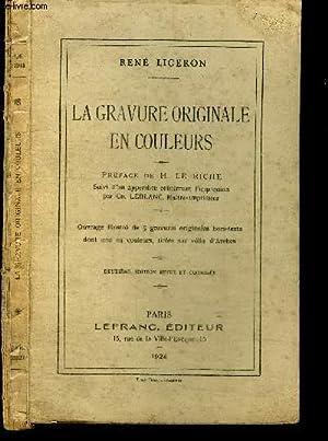 LA REVUE ORIGINALE EN COULEURS: LIGERON RENE