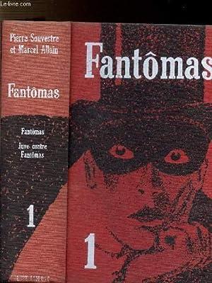 FANTOMAS - 1 VOLUME - 2 TOMES: SOUVESTRE PIERRE ET