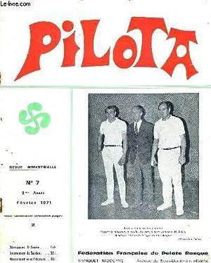 PILOTA - N°7 - Février 1971 -: COLLECTIF