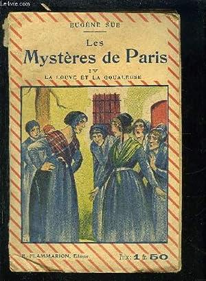 LES MYSTERES DE PARIS- TOME 4. LA: SUE EUGENE