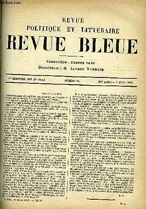 REVUE BLEUE - REVUE POLITIQUE ET LITTERAIRE: COLLECTIF