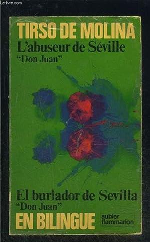L ABUSEUR DE SEVILLE- DON JUAN- COLLECTION: MOLINA TIRSO DE