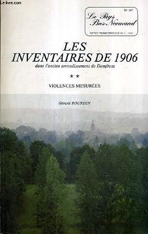 LE PAYS BAS NORMAND N°167 N°3 1982: BOURDIN GERARD
