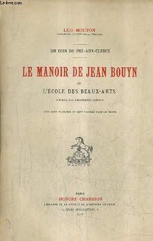 LE MANOIR DE JEAN BOUYN ET L'ECOLE: MOUTON LEO