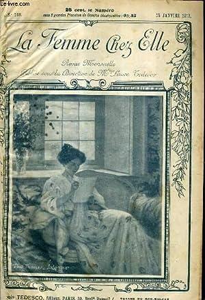 LA FEMME CHEZ ELLE N°169 15 JANVIER: COLLECTIF