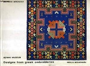 DESIGNS FROM GREEK EMBROIDERIES VOLUME 2.: MEGAPANOU AMALIA
