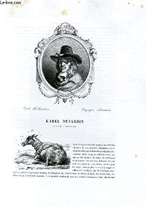 Biographie de Karel Dujardin (1635-1678) ; Ecole: CHARLES BLANC