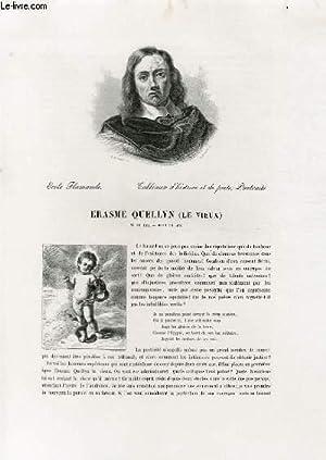 """Biographie d'Erasme Quellyn """"le vieux"""" (1607-1678) ;: ALFRED MICHIELS"""