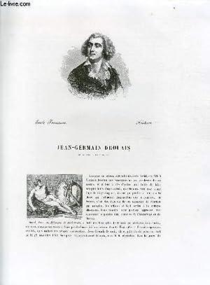 Biographie de Jean-Germain Drouais (1763-1788) ; Ecole: CHARLES BLANC