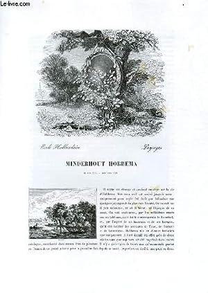 Biographie de Minderhout Hobbema (1635-1700) ; Ecole: CHARLES BLANC
