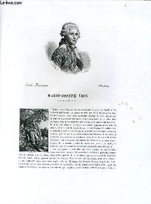 Biographie de Marie-Joseph Vien (1716-1809) ; Ecole: CHARLES BLANC