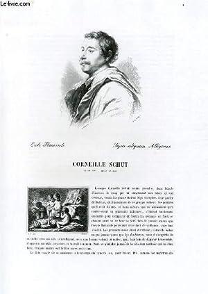 Biographie de Corneille Schut (1597-1655) ; Ecole Flamande ; Sujets religieux, Allégories ; ...