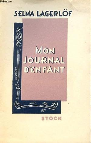MON JOURNAL D'ENFANT: LAGERLÖF Selma