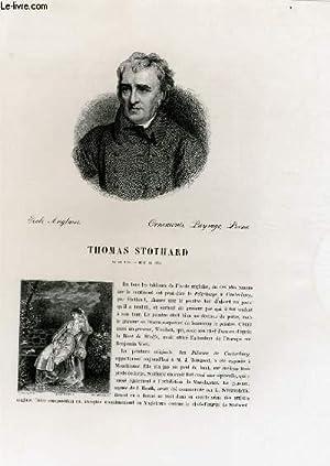 Biographie de Thomas Stothard (1755-1834) ; Ecole: W. BÜRGER