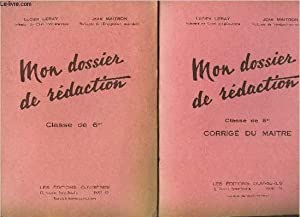 MON DOSSIER DE REDACTION - 2 VOLUMES: LERAY LUCIEN ET