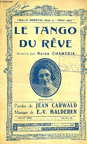 LE TANGO DU REVE - HOMMAGE RESPECTUEUX: MALDEREN E.V.