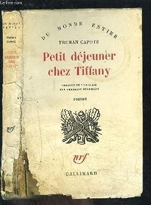 PETIT DEJEUNER CHEZ TIFFANY: CAPOTE TRUMAN.