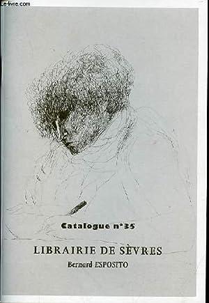 CATALOGUE N°35 AVEC LES PRIX - LIBRAIRIE: COLLECTIF