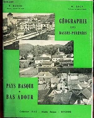 PAYS BASQUE - BAS ADOUR. / Cours: RUBON R. /