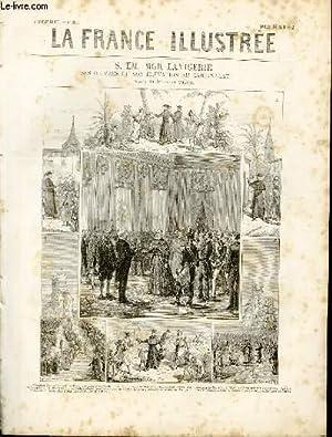 LA FRANCE ILLUSTREE N° 395 S. Em. Mgr Lavigerie - Ses oeuvres et son élévation au cardinalat (...